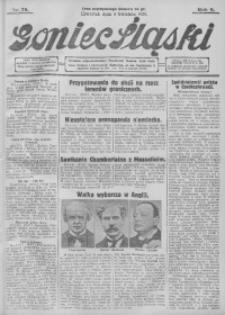 Goniec Śląski, 1929, R. 9, nr 78