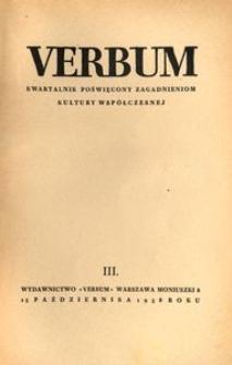 Verbum, 1938, z. 3