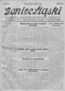 Goniec Śląski, 1929, R. 9, nr 179