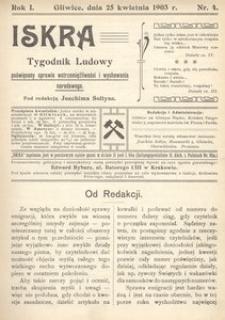 Iskra, 1903, R. 1, nr 4
