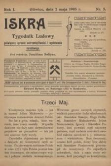 Iskra, 1903, R. 1, nr 5