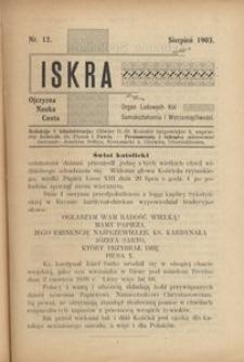 Iskra, 1903, R. 1, nr 12