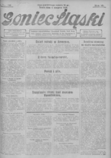Goniec Śląski, 1930, R. 10, nr 180