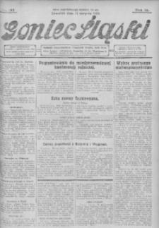 Goniec Śląski, 1930, R. 10, nr 192