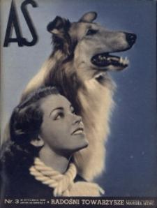 As. Ilustrowany magazyn tygodniowy, 1939, R. 5, nr 3