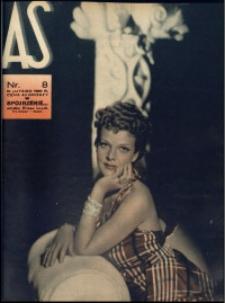 As. Ilustrowany magazyn tygodniowy, 1939, R. 5, nr 8
