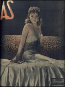 As. Ilustrowany magazyn tygodniowy, 1939, R. 5, nr 18