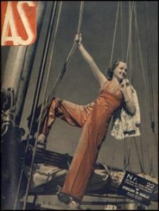 As. Ilustrowany magazyn tygodniowy, 1939, R. 5, nr 22