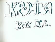 Głubczyce. Kronika Klasowa Zespołu Szkół Centrum Kształcenia Rolniczego. Rocznik 1983-1986. Klasa I-III