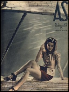 As. Ilustrowany magazyn tygodniowy, 1939, R. 5, nr 26