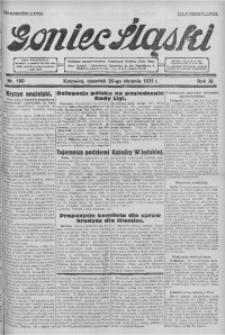 Goniec Śląski, 1931, R. 11, nr 190