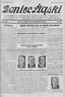 Goniec Śląski, 1931, R. 11, nr 234