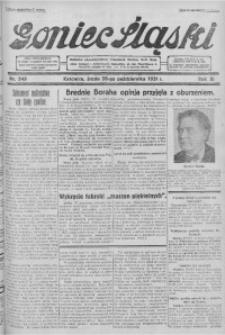 Goniec Śląski, 1931, R. 11, nr 249