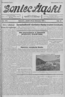 Goniec Śląski, 1931, R. 11, nr 272