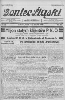Goniec Śląski, 1932, R. 12, nr 22
