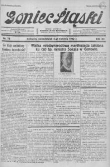 Goniec Śląski, 1932, R. 12, nr 78