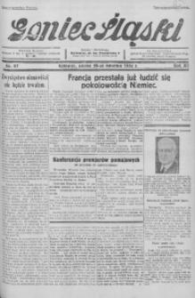 Goniec Śląski, 1932, R. 12, nr 97
