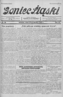 Goniec Śląski, 1932, R. 12, nr 98