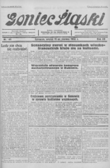 Goniec Śląski, 1932, R. 12, nr 141