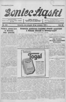 Goniec Śląski, 1932, R. 12, nr 222