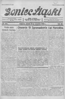 Goniec Śląski, 1932, R. 12, nr 223