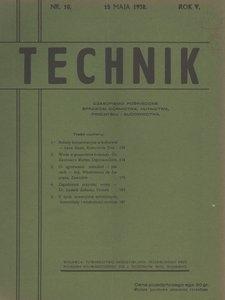 Technik, 1932, R. 5, nr 10