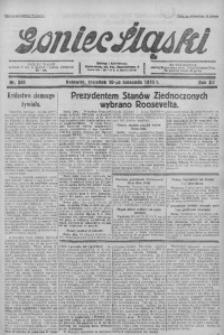 Goniec Śląski, 1932, R. 12, nr 261