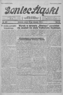 Goniec Śląski, 1932, R. 12, nr 279