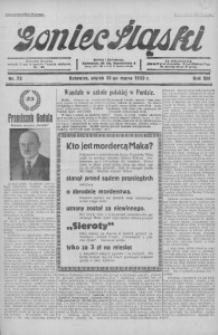 Goniec Śląski, 1933, R. 13, nr 75