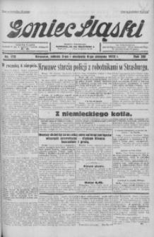 Goniec Śląski, 1933, R. 13, nr 178
