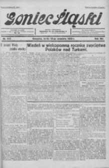Goniec Śląski, 1933, R. 13, nr 210
