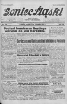 Goniec Śląski, 1933, R. 13, nr 256
