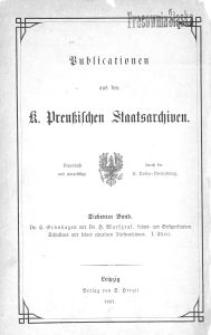 Lehns- und Besitzurkunden Schlesiens und seiner einzelnen Fürstenthümer im Mittelalter. 1. Theil