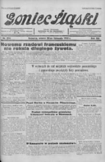 Goniec Śląski, 1933, R. 13, nr 274