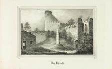 Dziedziniec zamku Chojnik