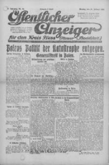 Oeffentlicher Anzeiger für den Kreis Pleß, 1921, Jg. 70, Nr. 44