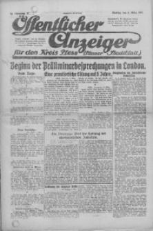 Oeffentlicher Anzeiger für den Kreis Pleß, 1921, Jg. 70, Nr. 51