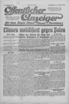 Oeffentlicher Anzeiger für den Kreis Pleß, 1921, Jg. 70, Nr. 61