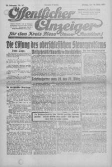 Oeffentlicher Anzeiger für den Kreis Pleß, 1921, Jg. 70, Nr. 62