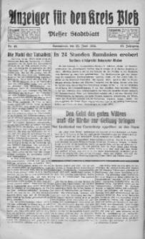 Anzeiger für den Kreis Pleß, 1934, Jg. 83, Nr. 49