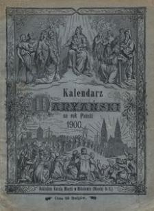 Kalendarz Maryański na Rok Pański 1900. R. 17