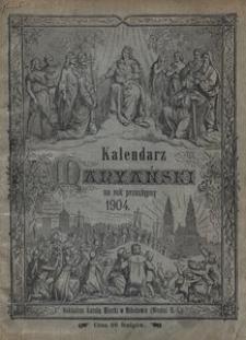 Kalendarz Maryański na Rok Przestępny 1904. R. 21