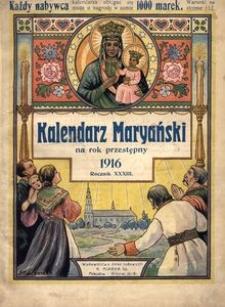 Kalendarz Maryański na Rok Przestępny 1916. R. 34