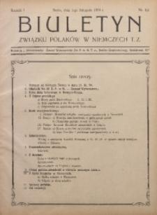 Biuletyn Związku Polaków w Niemczech T. Z., 1924, R. 1, Nr. 4/5