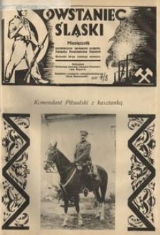Powstaniec Śląski, 1928, R. 2, nr 7/8