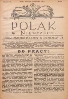 Polak w Niemczech, 1930, R. 7, Nr. 10