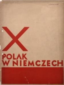 Polak w Niemczech, 1933, R. 10, Nr. _03