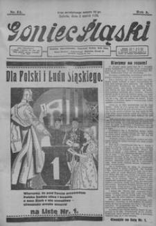 Goniec Śląski, 1928, R. 8, nr 52