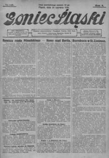 Goniec Śląski, 1928, R. 8, nr 148