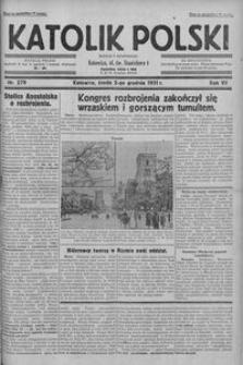 Goniec Śląski, 1931, R. 11, nr 279